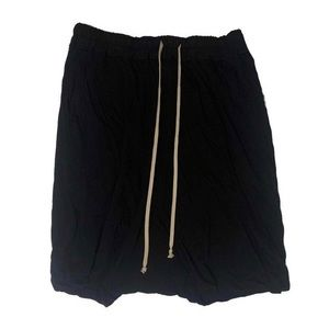 Rick Owens Drkshdw Knee Length Shorts
